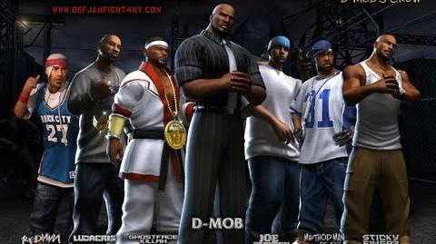Def Jam Fight For NY - D-Mob's Crew