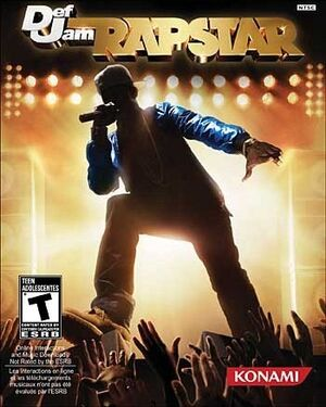 Def Jam Rapstar Game Cover