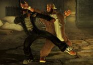 Freeway (wrestler) vs Baxter (street fighter)