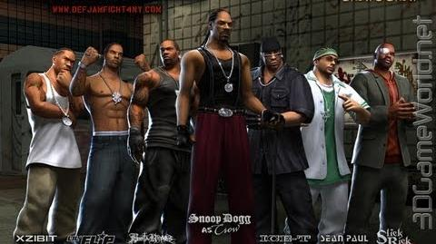 Def Jam Fight For NY - Crow's Crew