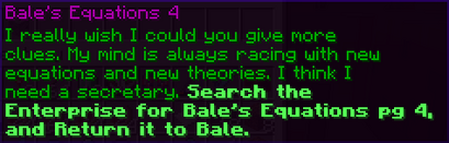 Bale's Equation4