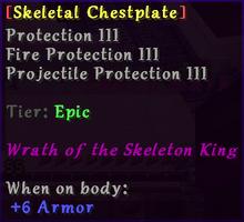 Skeletal Chestplate
