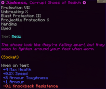 Sadness, Corrupt Shoes of Medivh
