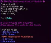 Strife, Depraved Cowl of Medivh