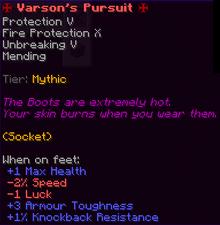 Varson's Pursuit