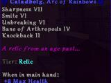 Caladbolg, Arc of Rainbows