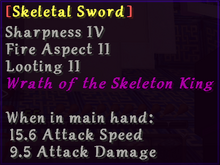 Skeletal Sword