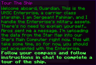 Tour The Ship