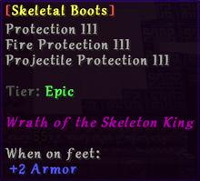 Skeletal Boots