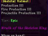Skeletal Helmet