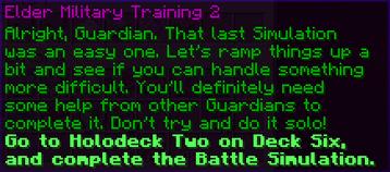Elder Military Training 2