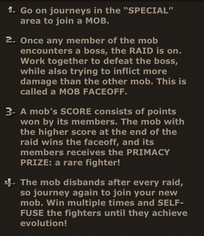BotB mob rules
