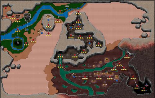 Defender's quest MAP