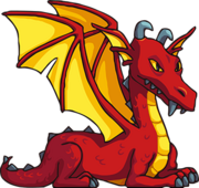 Dragon hero icon big