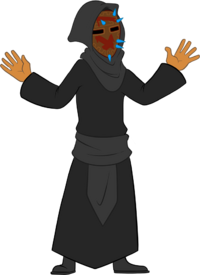 Cultist arms up