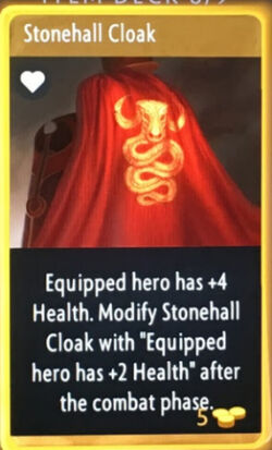 Artifact - Stonehall Cloak