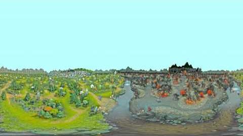 Pano 360 - Bird's Eye View, Dota 2