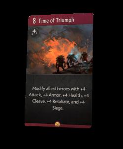 Time of Triumph - Artifact