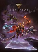 Artifact DOTA splash