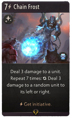 Chain Frost - Artifact