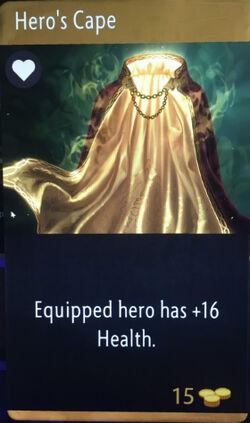 Artifact - Hero's Cape