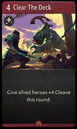 Clear the Deck - Artifact