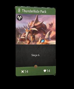 Thunderhide Pack - Artifact