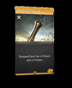 Blade of the Vigil - Artifact
