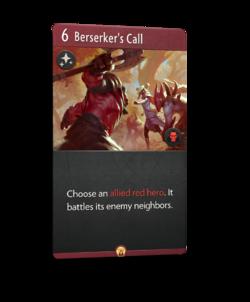 Berserker's Call - Artifact