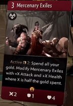 Mercenary Exiles - Artifact