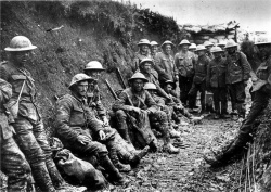 250px-Royal Irish Rifles ration party Somme July 1916