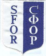 Sfor badge
