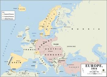 350px-Europe 1914