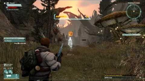 Start of Game Tutorial - Recovery Mission, EGO Intergration, Help Cass - Defiance MMO-0