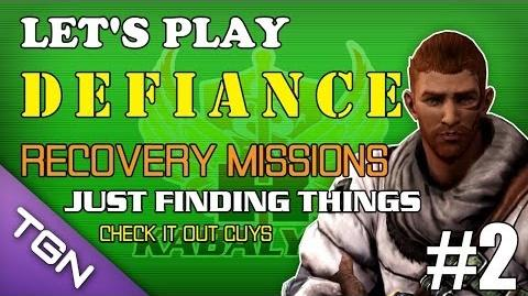 Let's Play Defiance Vid 2 - Recovery Missions TGNArmy @tgnTV