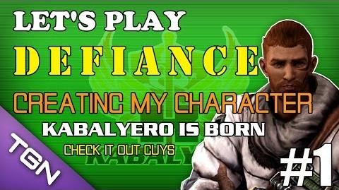 Let's Play Defiance Vid 1 - Creating My Character TGNArmy @tgnTV