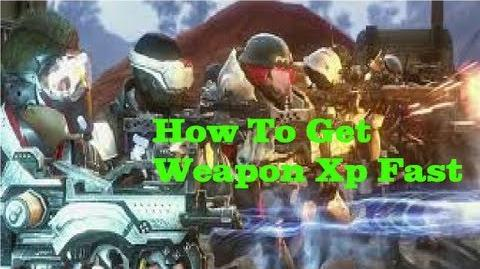 Defiance - How To Get Weapon Xp Fast