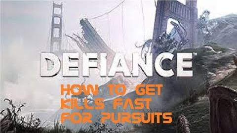 Defiance - How To Get Kills FAST For Pursuits