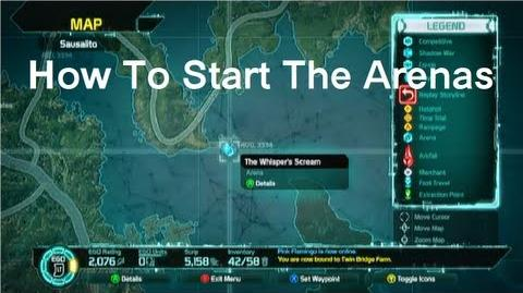 Defiance - How To Start The Arena Missions