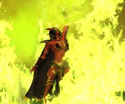 Dru green fire4