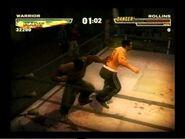 Rollins beaten