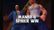 Manny and spider