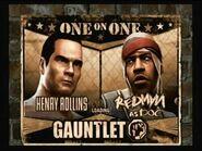 Rollins vs redman