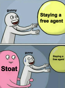 Stoat gunny pink