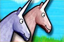 2 unicorns