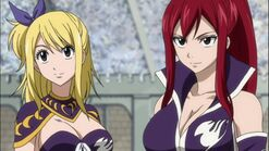 Lucy and Erza