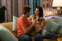 Chris Keller and Brooke