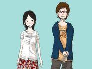 Meiko and Taneda