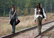 Carl-and-michonne-make-a-bet