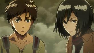 Eren x Mikasa